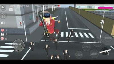 樱花女生模拟器公主版图1