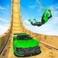 超级汽车跳跃特技
