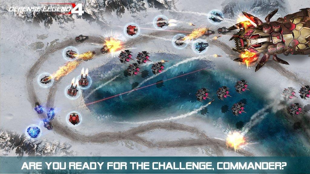 防御传奇4科幻塔防图3